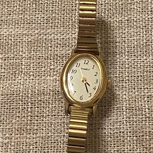 Timex CR 1216 Cell women's gold tone watch